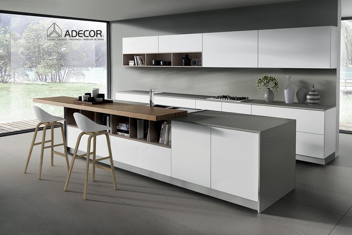 Les cuisines équipées modernes ADECOR Cuisines